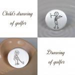 Drawings of Golfers