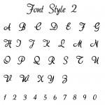 Font Style 2 AkaDora