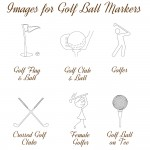 Images for Golf Ball Markers NEW