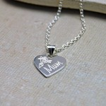 Personalised Silver Mum Necklace 2