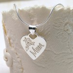 Personalised Silver Mum Necklace Alternative Chain 2