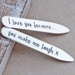 Personalised Silver Shirt Collar Stiffeners2