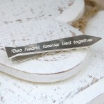 Personalised Silver Tie Shaped Tie Bar