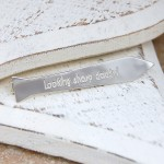 Personalised Silver Tie Shaped Tie Slide 2