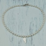 Girls Angel Wing and Pearl Necklace3