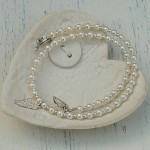 Girls Angel Wing and Pearl Necklace5