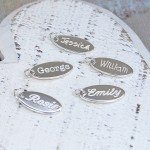 Personalised Silver Name Charms 2