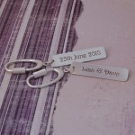 Personalised Silver Occasions Keyring 2