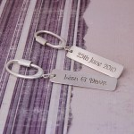 Personalised Silver Occasions Keyring 3