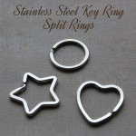 Stainless Steel Key Ring Split Rings