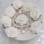 Sterling Silver Coin Pearl Sweetie Bracelet 3 copy