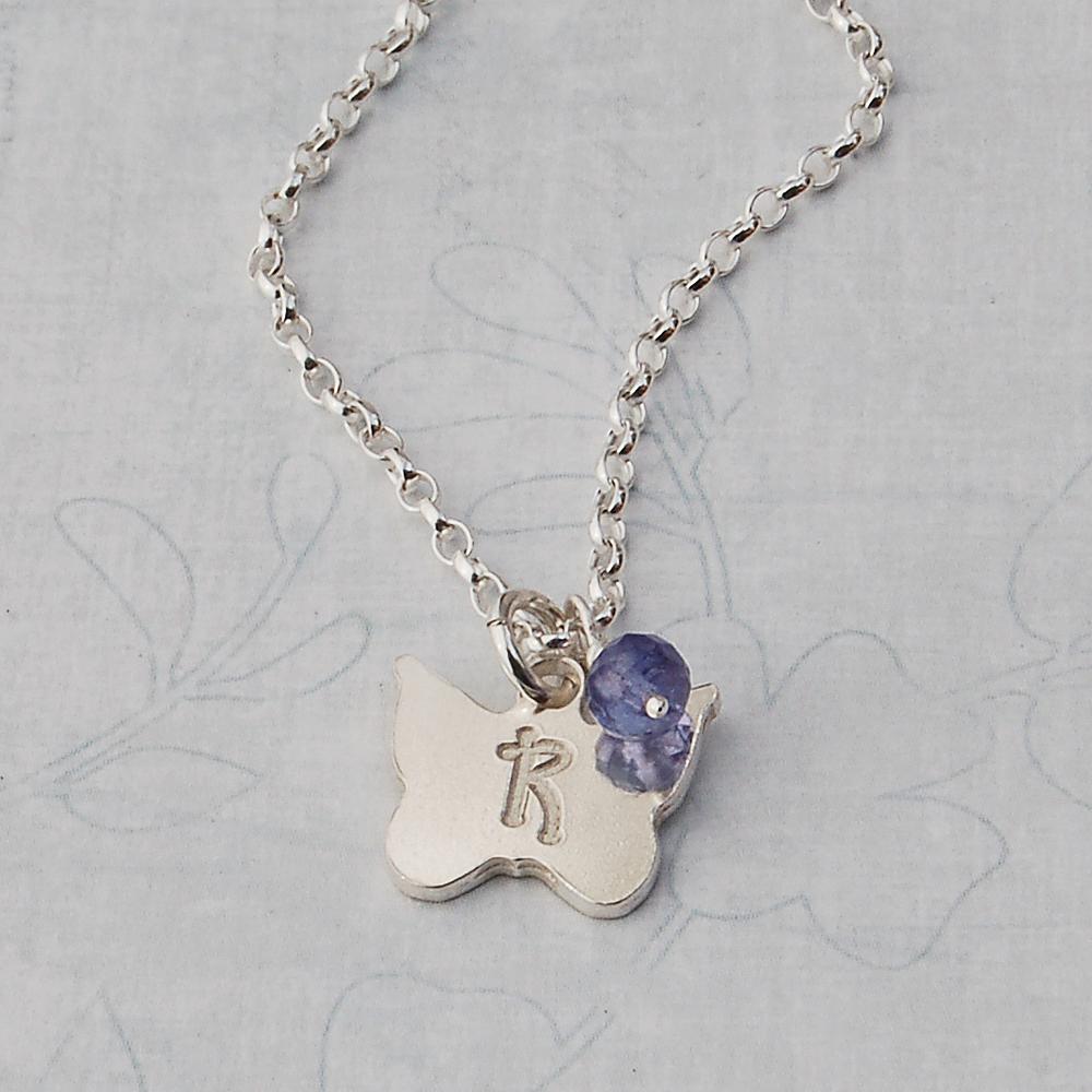 Girls Angel Wing Necklace | IndiviJewels