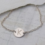 Personalised Silver Disc Necklace 2
