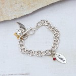 Personalised chunky Chain bracelet 1A