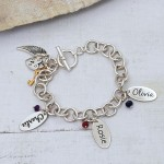 Personalised chunky chain bracelet 3