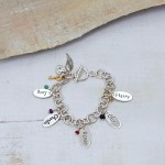 Personalised chunky chain bracelet 5