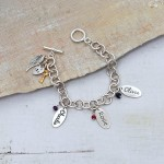 Personalised chunky chain bracelet 6