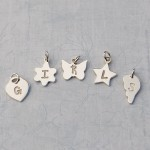 Initial charms for Girls Jewellery