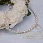 Sterling silver personalised secret heart and freshwater pearl necklace 2 copy