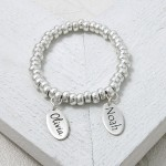 Handmade Personalised Etched Name Slinky Bracelet 2
