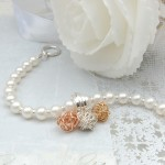 Pearl and Three Bird's Nest Bracelet 6 copy