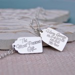 The Most Precious Gift Silver Tag Necklace