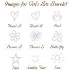 IndiviJewels images for Girls Bar Bracelet