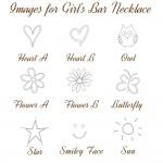 IndiviJewels images for Girls Bar Necklace