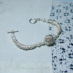 Sterling Silver Bird's Nest And Pearl Bracelet 3 copy
