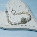 Sterling Silver Bird's Nest And Pearl Bracelet 6 copy