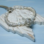 Sterling Silver Bird's Nest And Pearl Bracelet1 copy