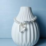 Sterling Silver Secret Heart And Pearl Bracelet 5 copy