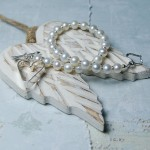 Sterling Silver Secret Heart And Pearl Bracelet 7psd copy
