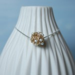 Gold Fill Entwined Pearl Necklace 3 copy