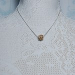 Gold Fill Entwined Pearl Necklace 9 copy