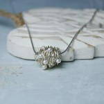 Sterling Silver Entwined Pearl Necklace 4 copy