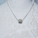 Sterling Silver Entwined Pearl Necklace1 copy