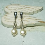 Swarovski Coin Pearl And Sterling Silver Rings Earrings 7 copy