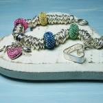 Personalised sterling silver & Swarovski Bead Bracelet 5 copy